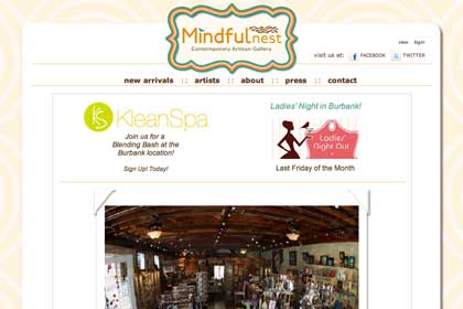 Mindfulnest One Page Site