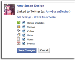 Facebook to Twitter Step 3